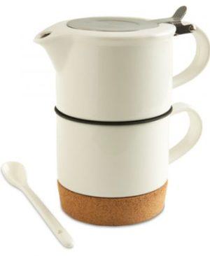 Elegance Tea Set - Avail in: White