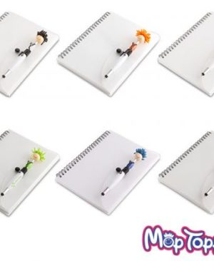 Mop Doctor A5 Notebook And Pen - Avail in: Black