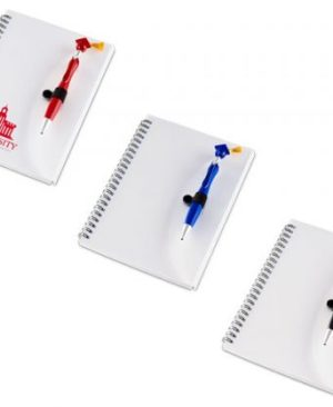 Swanky Graduation A5 Notebook And Pen - Avail in: Black