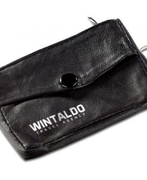 Texas Leather Key pouch - Avail in: Black