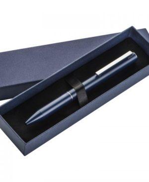 Executive navy-blue metal ball pen
