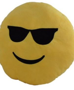 Emoji 40cm Cushion - Cool