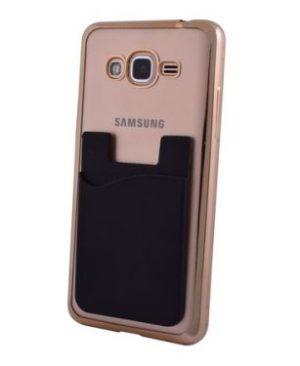 Silicon Cellphone Card Holder