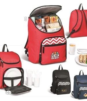Ripple Picnic Backpack Cooler - Black