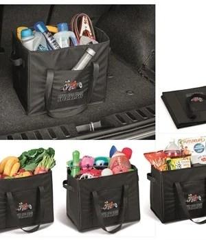 Vehicle Boot Multipurpose Carry-All Organiser - Black