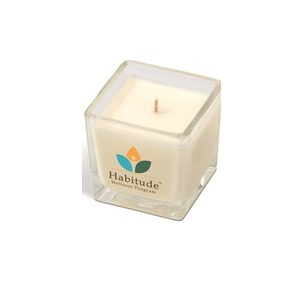 Soft Glow Candle - White