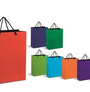 Omega Midi Gift Bag - Blue