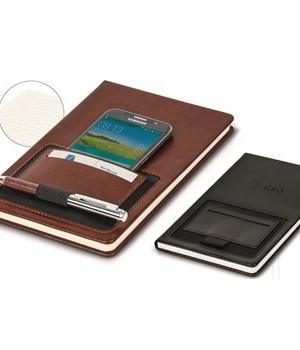 Ashburton Portage A5 Notebook - Black or Brown