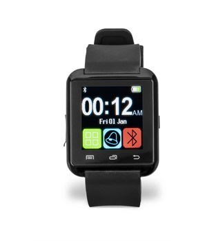 In-Touch LED Smart Watch - Black