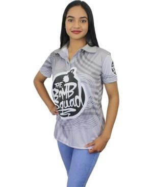Custom Golf Shirt - Women - Can take a full colour print