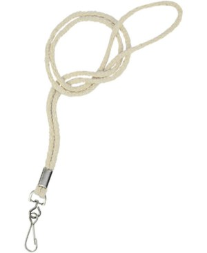 Cotton Cord Lanyard + Swivel