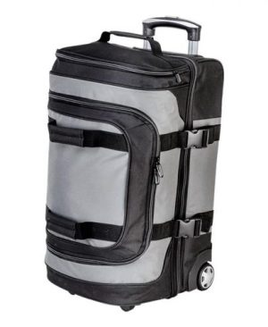 Dual Strap Double Decker Trolley Bag
