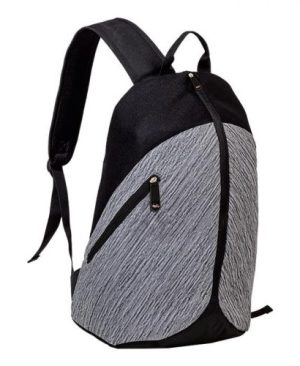Tech Backpack With Centre Zip