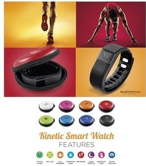 Kinetic Smart Watch