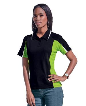Barron Ladies Nero Golfer - Avail in: Black/Lime/White