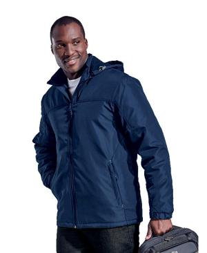 Barron Mens Cooper Jacket - Avail in: Black/Silver or Navy/Silver