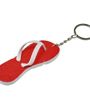 Flip Flop Keychain - Avail in: Light Blue