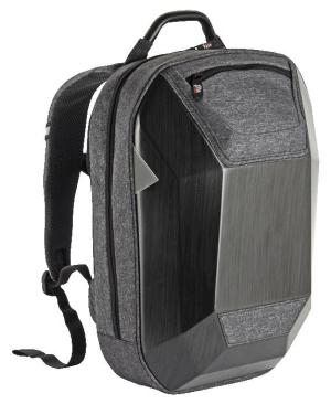 Hard Shell Protective Tech Laptop Backpack - Avail in: Grey/Black