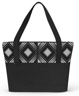 Geo Tote Bag - Black