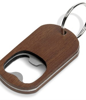 Catalina Bottle Opener Keyholder - Brown
