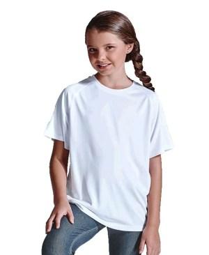 Barron 135g Kiddies Polyester T-Shirt - Avail in: Black