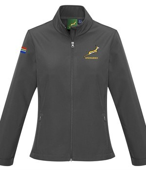 Springbok Ladies Softshell Jacket - Available in: Black