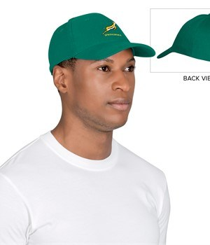 Springbok Heavy Brushed Coptton Cap - Available in: Green