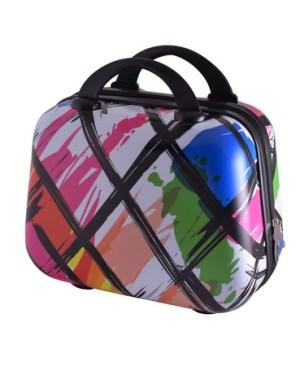 Marco Modern Art Vanity Case - 12 inch. Multicoloured
