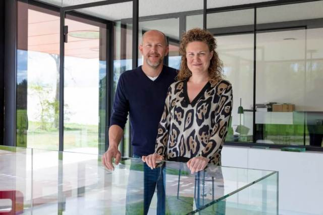 Peter Van Bouwel en Ruth Renders