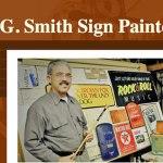 My old sign making website