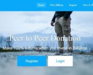 BILLDROPS.com Login Account – New Ponzi Scheme Login Bill Drops andRegister