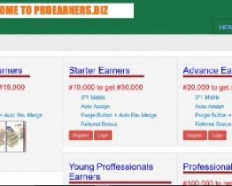 ProEarners - Get 200% with this New Ponzi Scheme