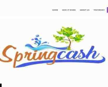 Springcash.me - Still Paying to Get 100% of your investment Just Register