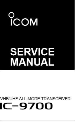 Icom IC-9700 Service Manual – PH4X on