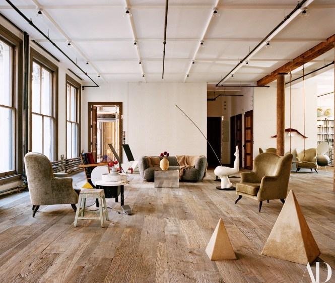Alexandre De Betak S Soho Apartment In Architectural Digest Photographs By François Halard Styled