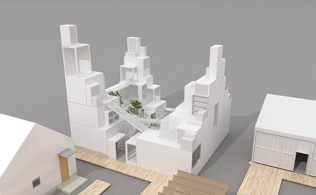 E Tower By Sou Fujimoto Image Courtesy Of House Vision Jp