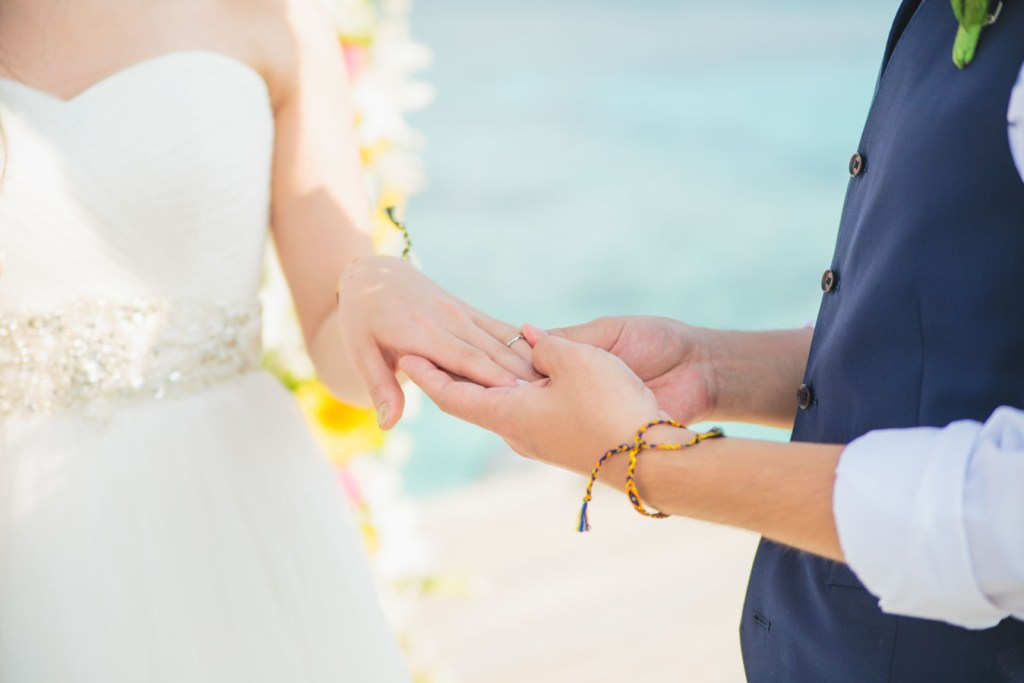 destination wedding in Maldives