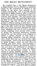 "Excerpt from ""Twentieth Century Impressions of British Malaya."""