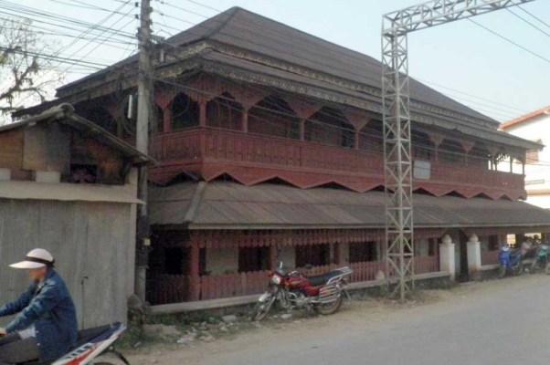 Phaya Sekòngs Wohnhaus in Mueang Sing im Jahre 2019. Foto: Volker Grabowsky