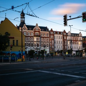 Altstadt Köpenick: Die Altstadt langzeitbelichtet
