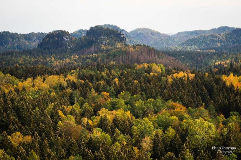 Lichtenhainer Wasserfall: Herbstlandschaft 2