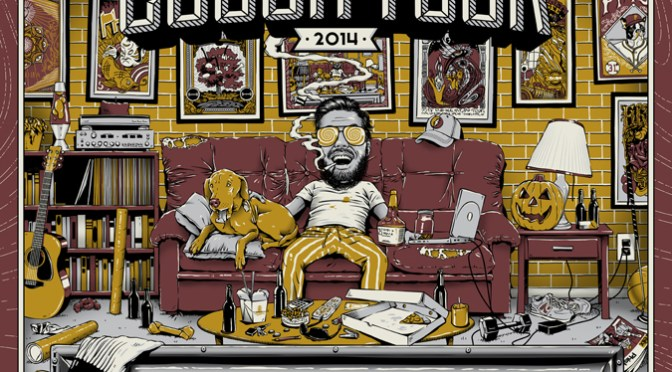Fall Couch Tour Poster by State of Shock Studios
