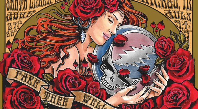 Postcard Giveaway at Grateful Dead 50th Anniversary Concerts