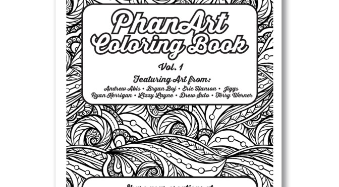 The PhanArt Coloring Book