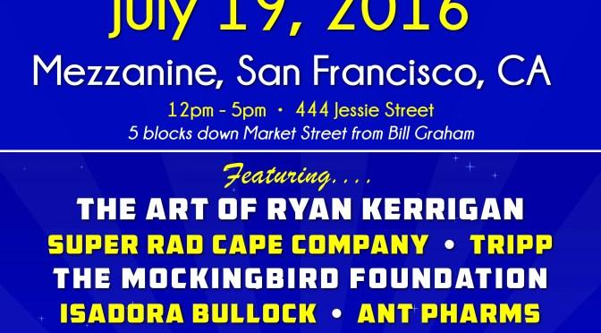 San PhranArt Show Lineup Announced!
