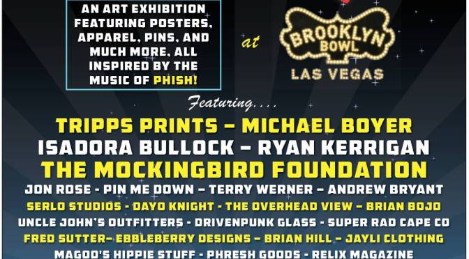 Announcing the Lineup of Artists for PhanArt Las Vegas, October 29