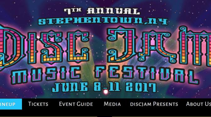 Disc Jam Music Festival 2017 Vendor Line Up – Know B4 You Go!