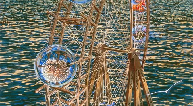 Fish Pherris Wheel by Victor Stabin