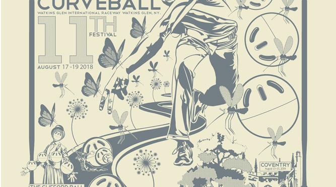 Eddie Vector's Curveball poster