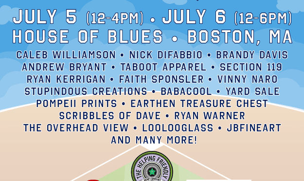 Lineups for PhanArt in Boston and Mohegan Sun revealed!
